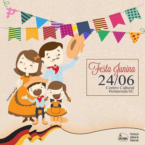 1a Festa Junina de Pomerode
