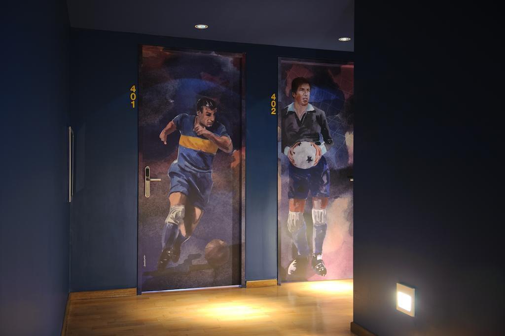 5 hotéis inspirados no futebol: este da Argentina está na lista