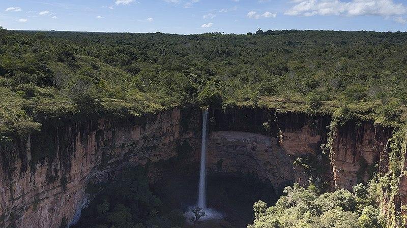 Cachoeira Véu de Noiva, Mato Grosso