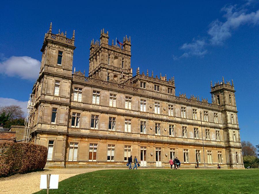 Castelo de Downton Abbey reservado pelo Airbnb