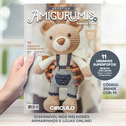 Receita Urso Panda Amigurumi em PDF no Elo7 | GatoFio Ateliê (10CCD58) | 432x432
