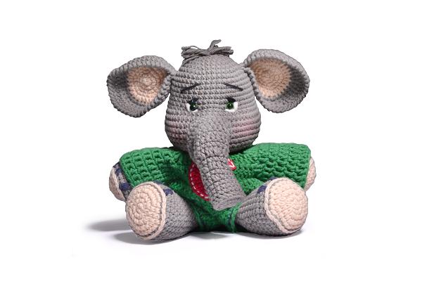 Amigurumi do Zero #36 - Como Fazer um Elefante ♥ - Parte 1 - YouTube | 400x600