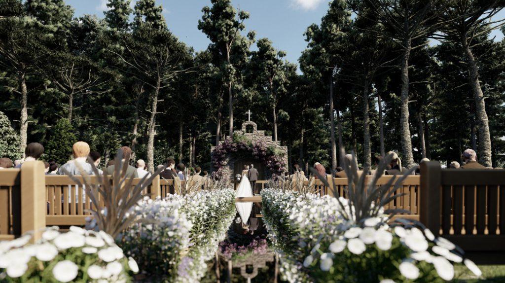 Indaiá Frohsinn terá área especial para casamentos ao ar livre