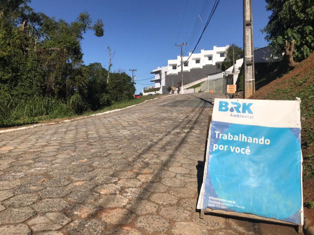 BRK Ambiental realiza serviços para ampliar rede de coleta e tratamento de esgoto
