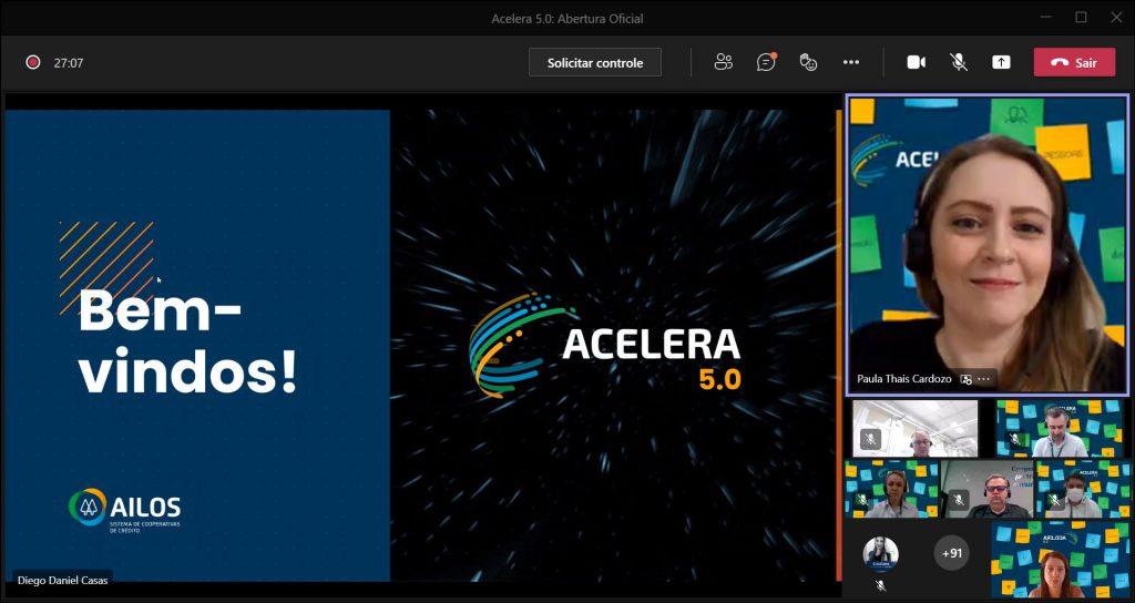 No total, o Acelera 5.0 recebeu mais de 200 inscrições para 60 vagas.