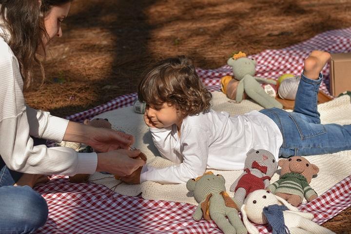 Atividades manuais auxiliam no desenvolvimento das crianças