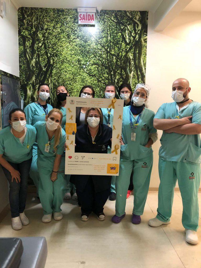 Hospital Marieta realiza ações voltadas à saúde mental dos colaboradores
