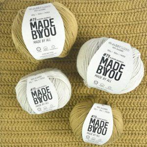 Novidade faz parte do mix de produtos mais sustentáveis oferecidos pela marca. O fio orgânico cultivado no Peru é lançamento da Made by You para produções artesanais