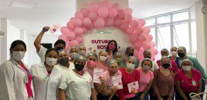 Hospital Marieta reforça estudo sobre queda no número de mortes por câncer de mama com a realização anual da mamografia